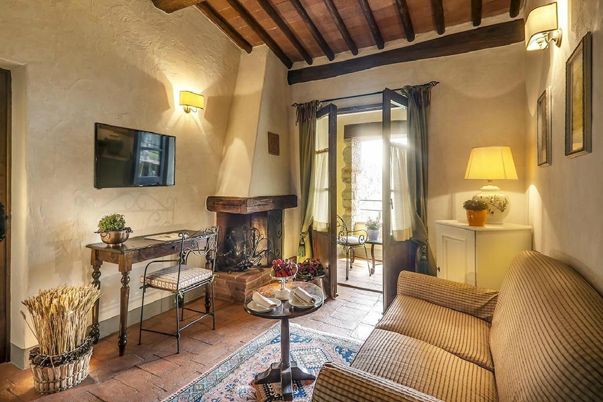 Castello di Spaltenna – Terrace Suite