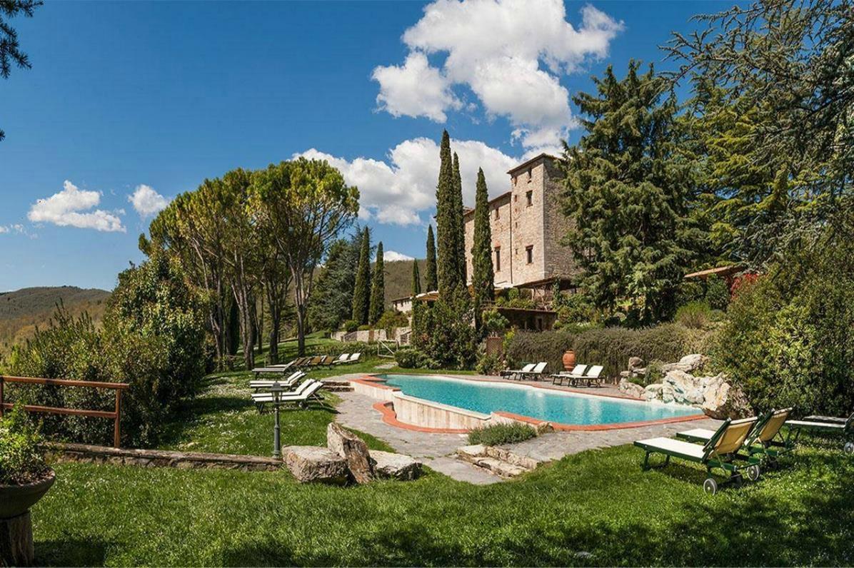 Castello di Spaltenna – Basen