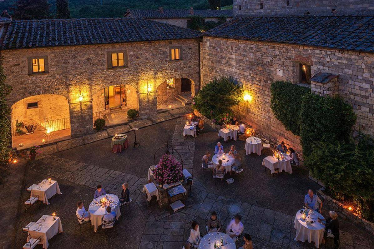Castello di Spaltenna – Restauracja Il Pieviano