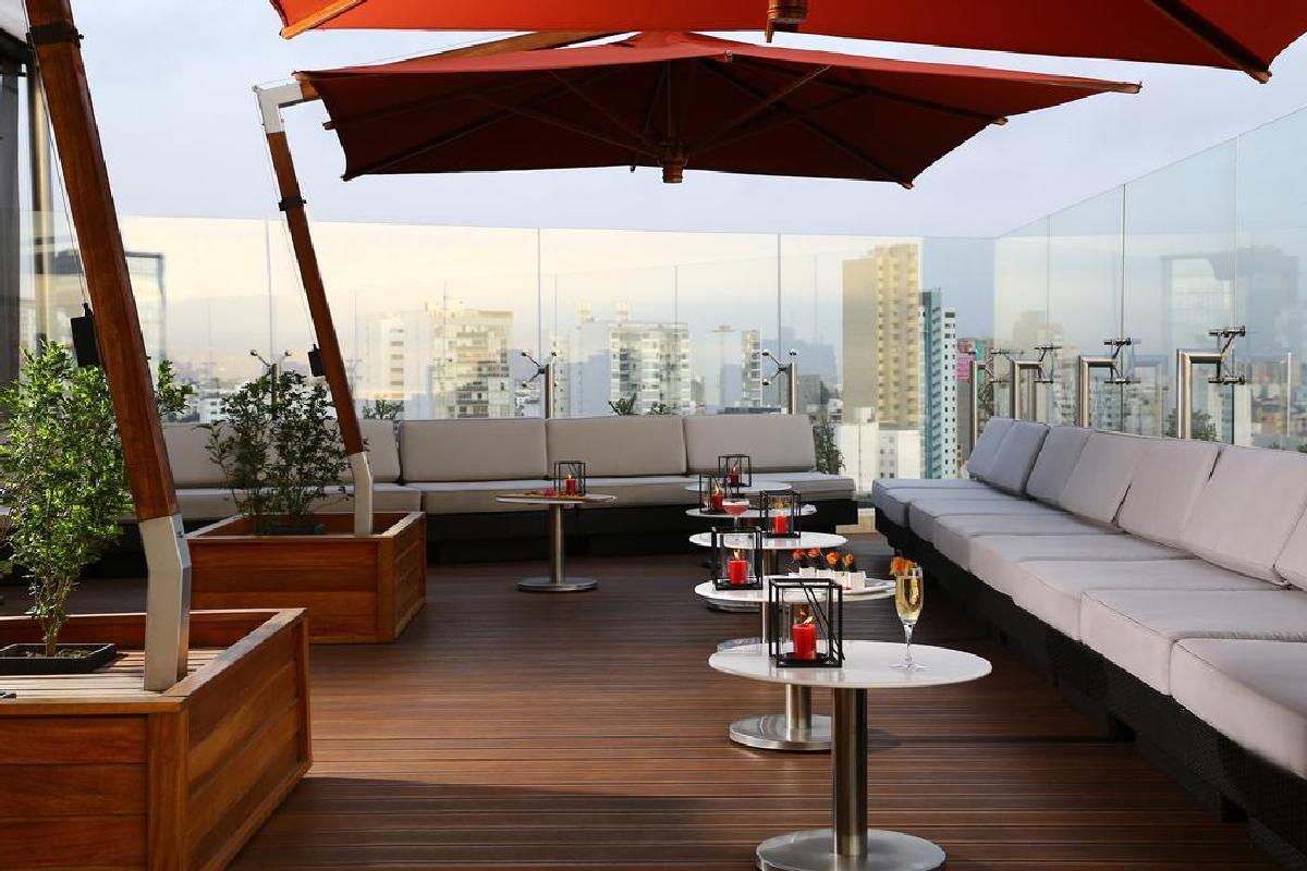 Hilton Lima Miraflores – Bar na dachu