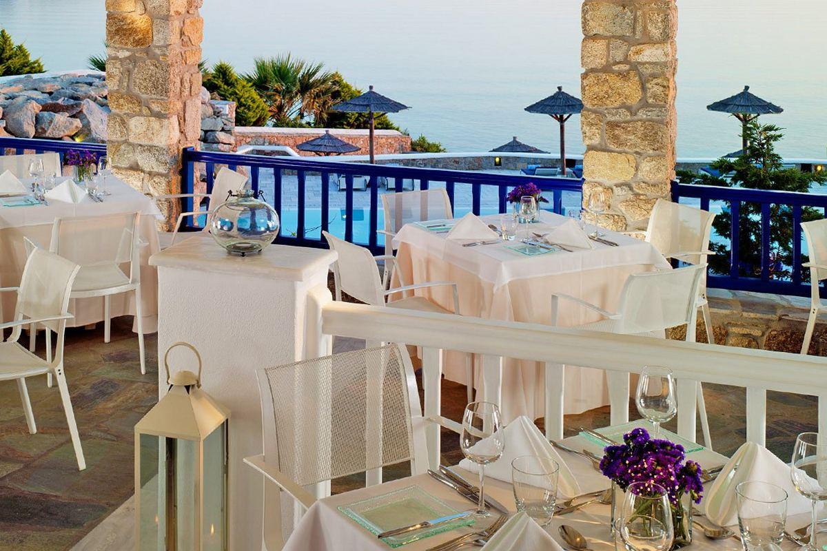 Mykonos Grand – Restauracja