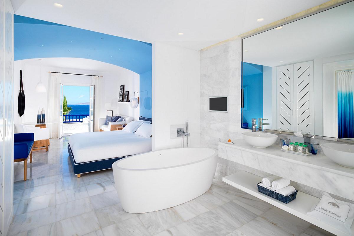 Mykonos Grand – Suite Sea View Separate Living Room