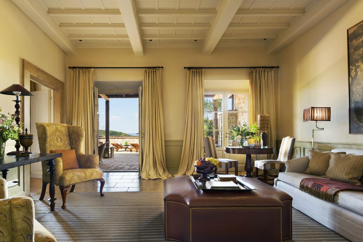 Rosewood Castiglion del Bosco – Terrace Suite
