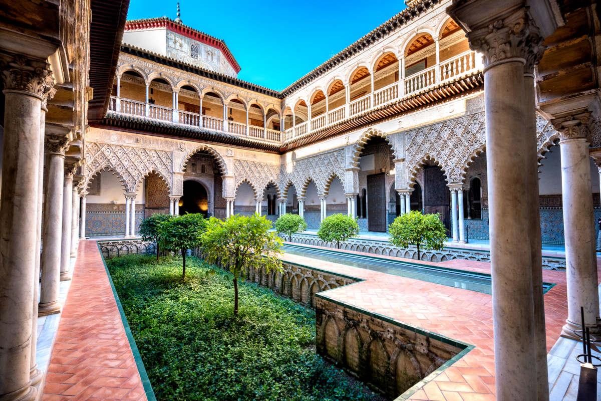 Sewilla – Pałac Alkazar