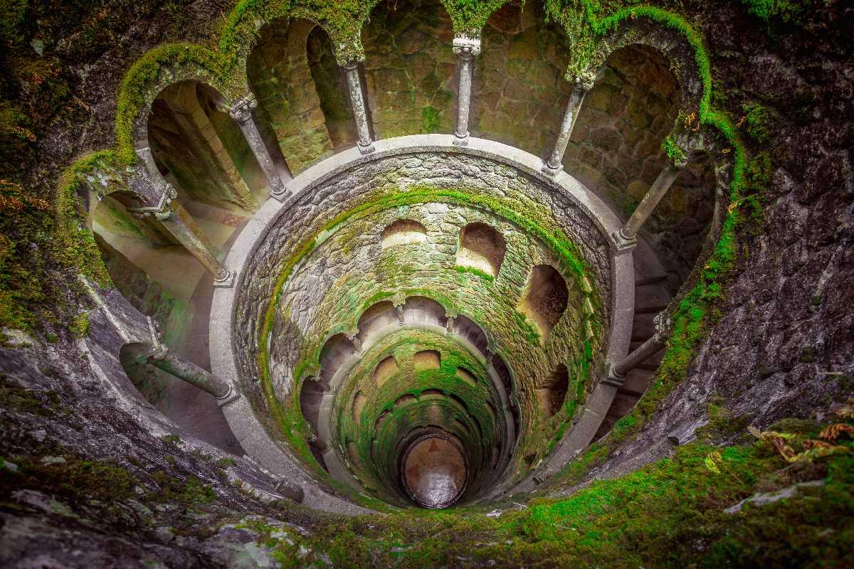 Sintra – Studnia w Pałacu Regaleira