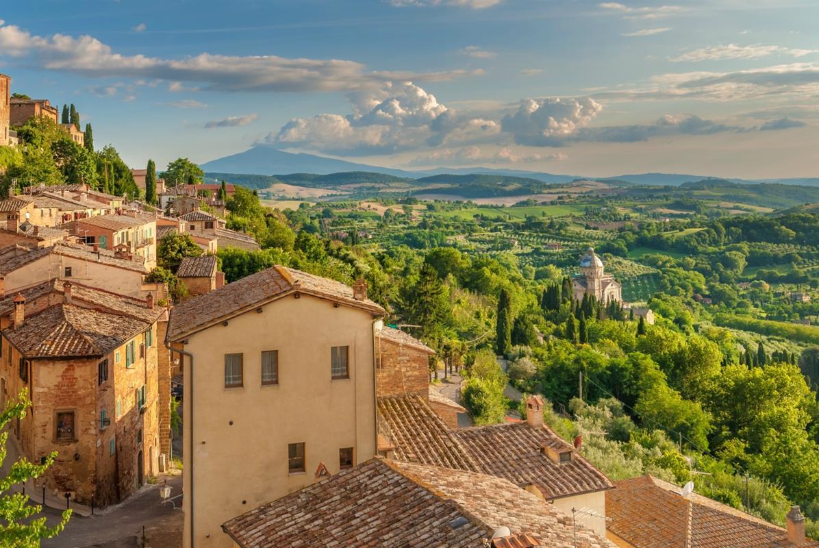 Toskania – Montepulciano