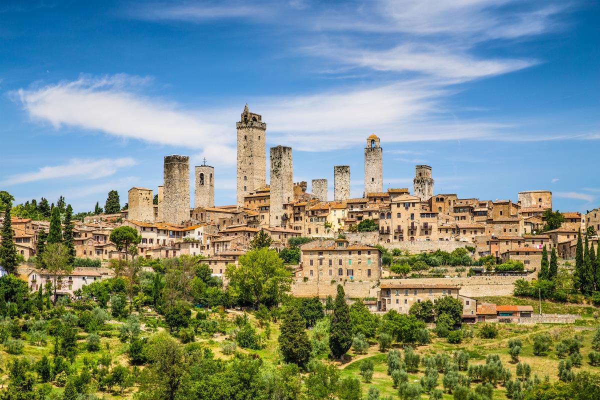 Toskania – San Gimignano