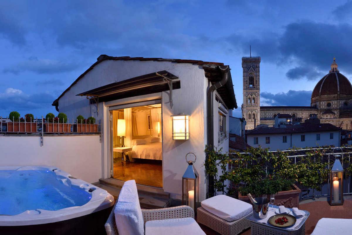Brunelleschi – Pool Suite