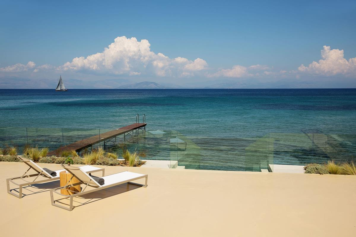 Domes Miramare Corfu – Plaża