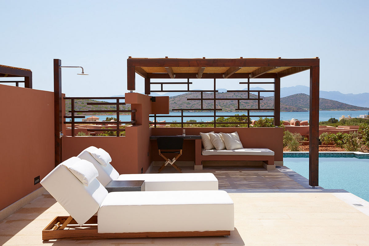 Domes Of Elounda – Outdoor Lounge