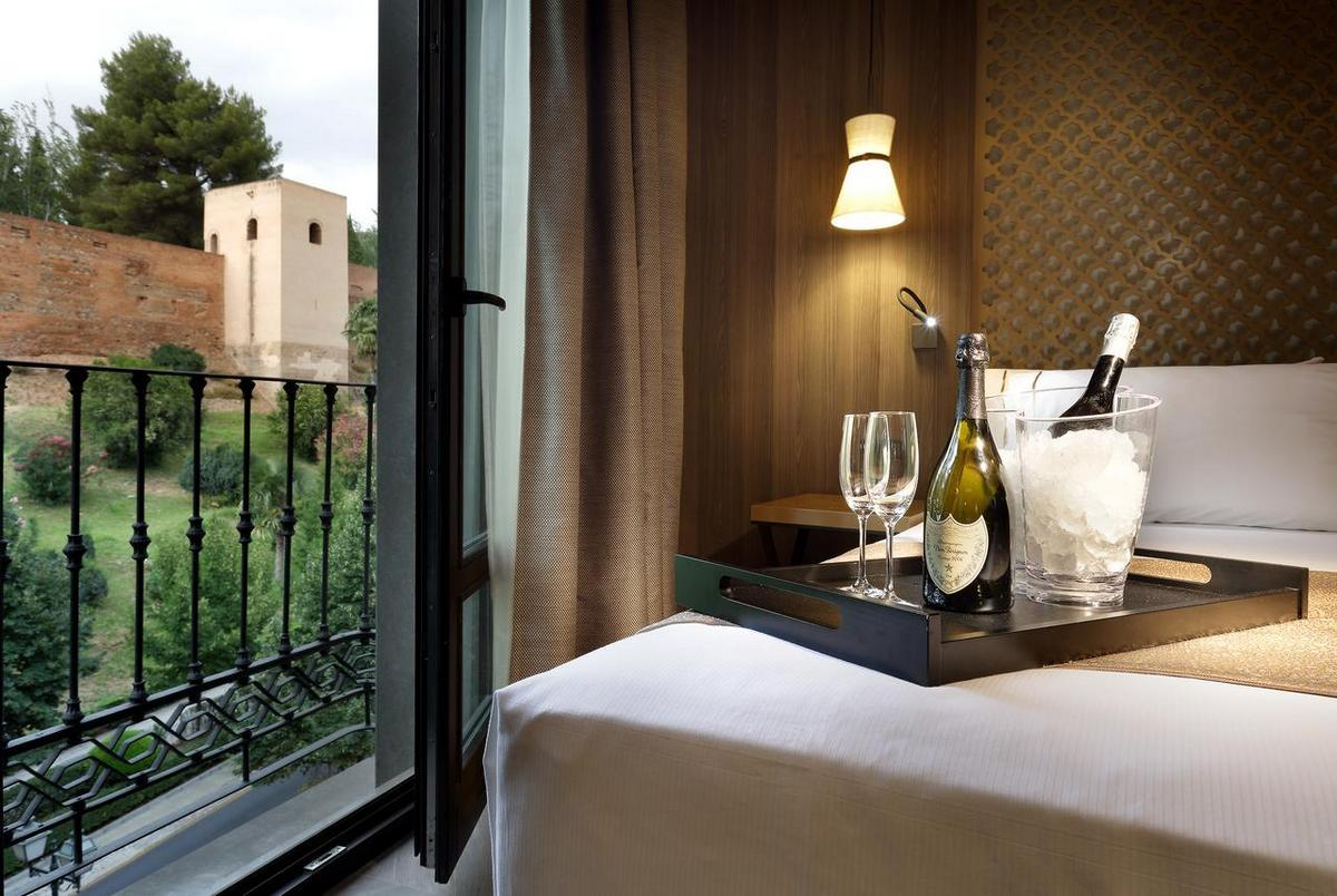 Eurostars Washington Irving – Double Room Alhambra View