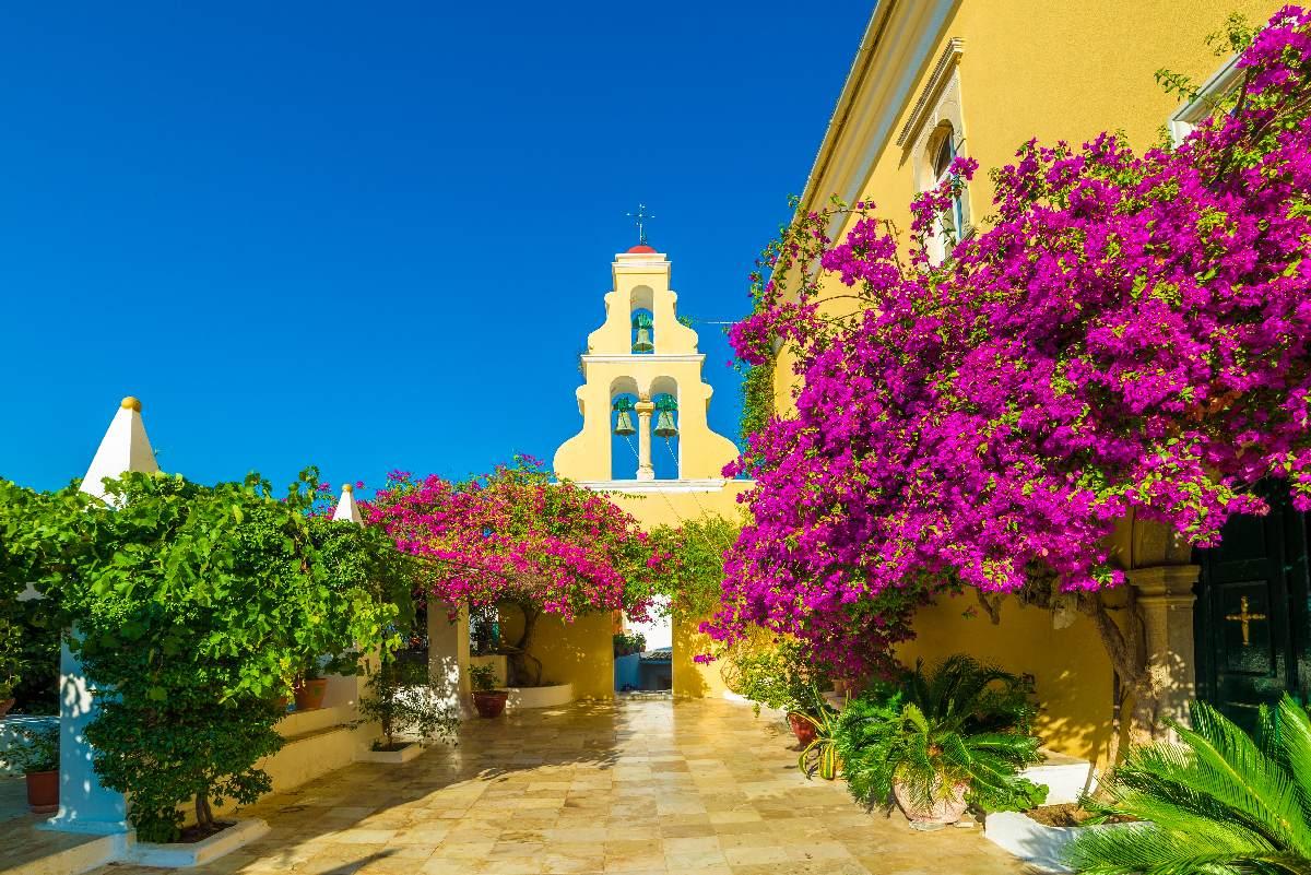 Korfu – Paleokastritsa, Theotokos Monastery