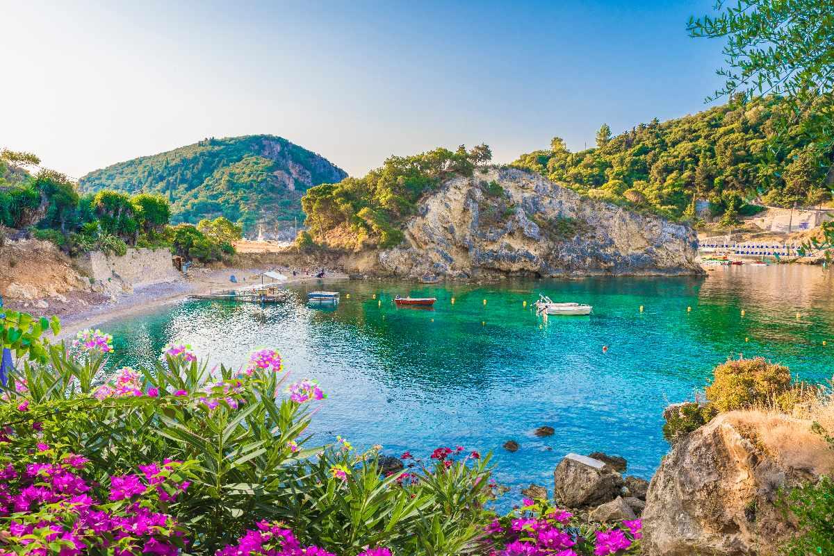 Korfu – Paleokastritsa