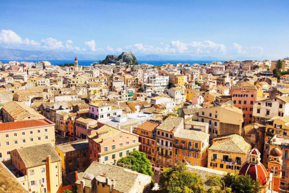 Korfu – Panorama miasta