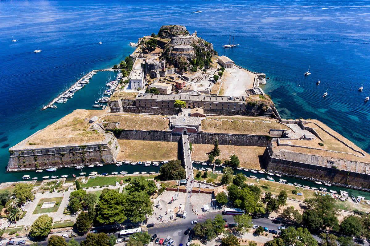 Korfu – Stary Fort