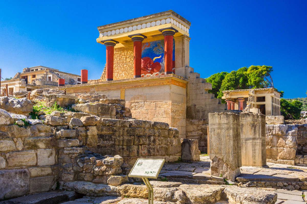 Kreta – Knossos Palace
