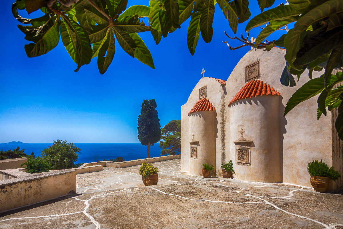 Kreta – Preveli Monastery