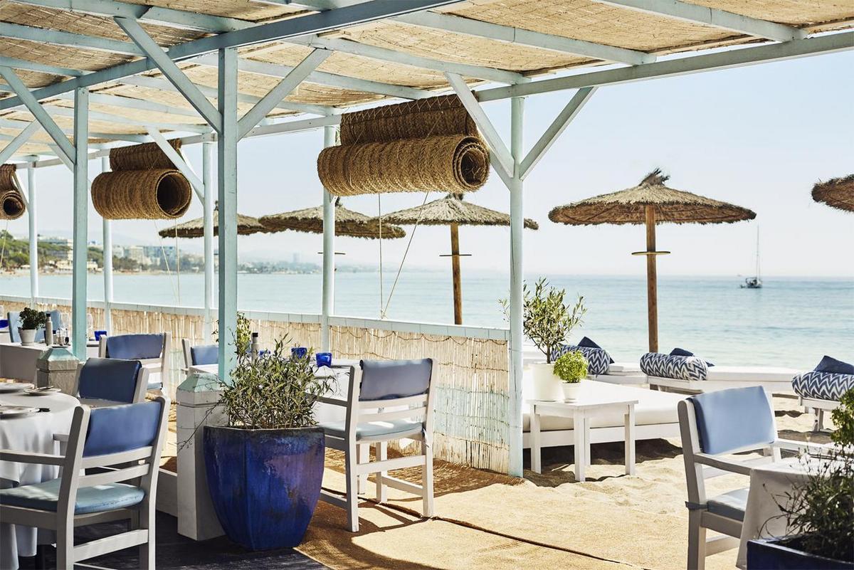 Marbella Club Hotel – Restauracja na plaży