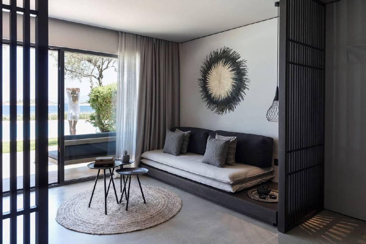 Minos Palace – Junior Suite Sea View lower-deck