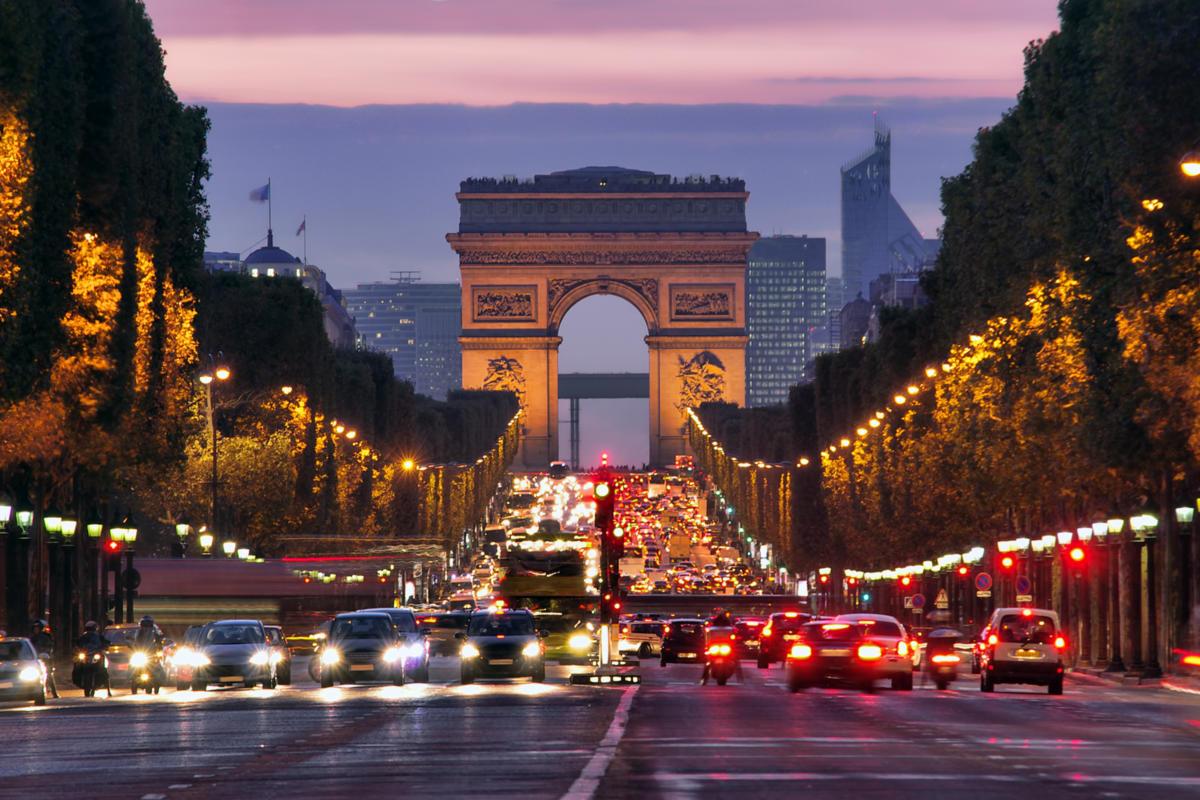 Paryż – Łuk Triumfalny