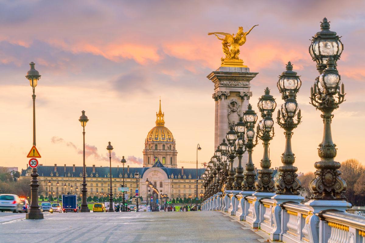 Paryż – Most Aleksandra III