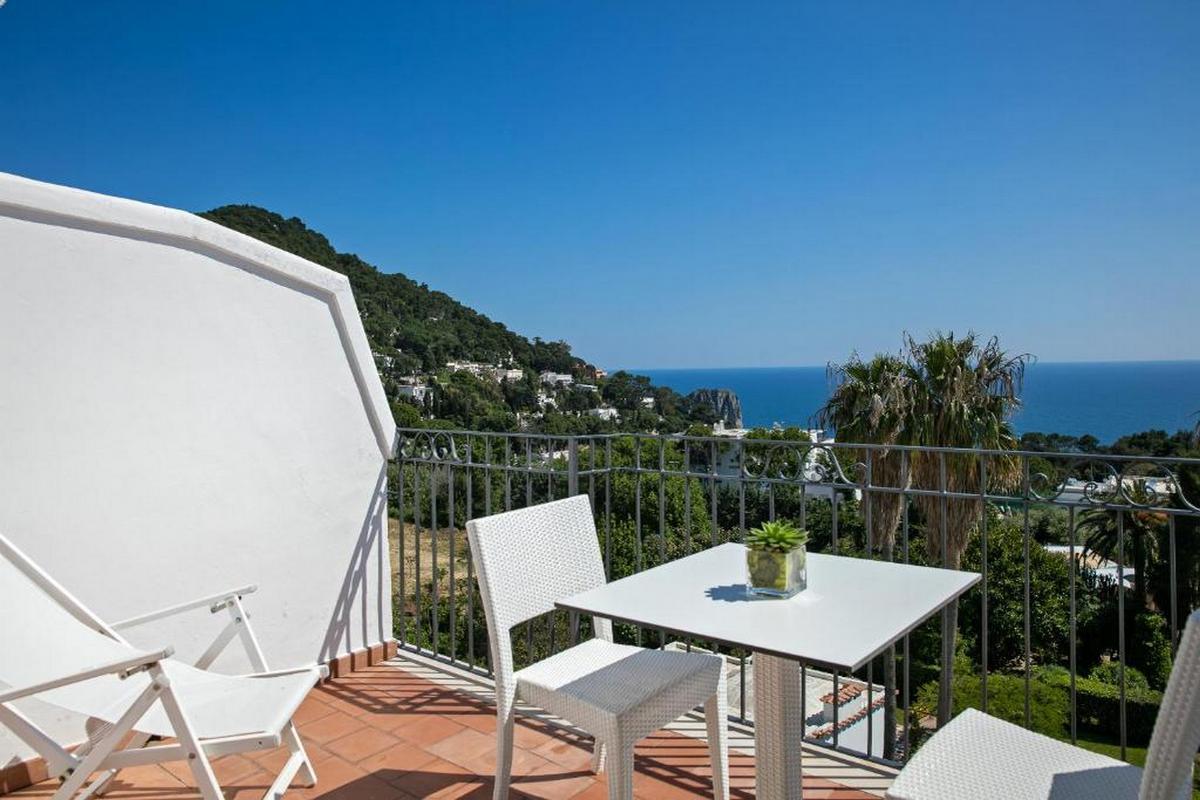 Syrene – Sea View Room's Balcony