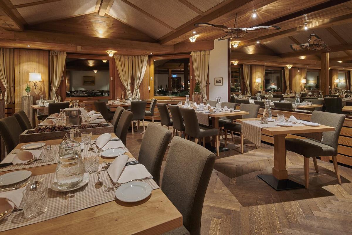 Alpenrose Wengen – Restauracja