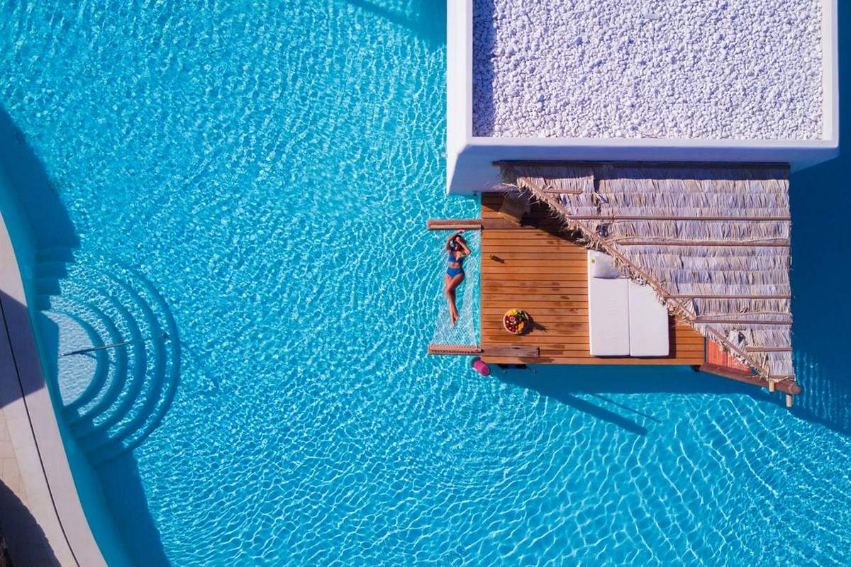 Stella Island Luxury Resort & Spa – Basen