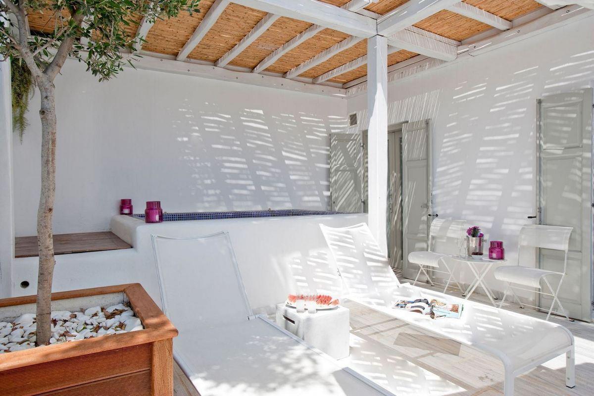 Grace Mykonos – Family Suite z basenem