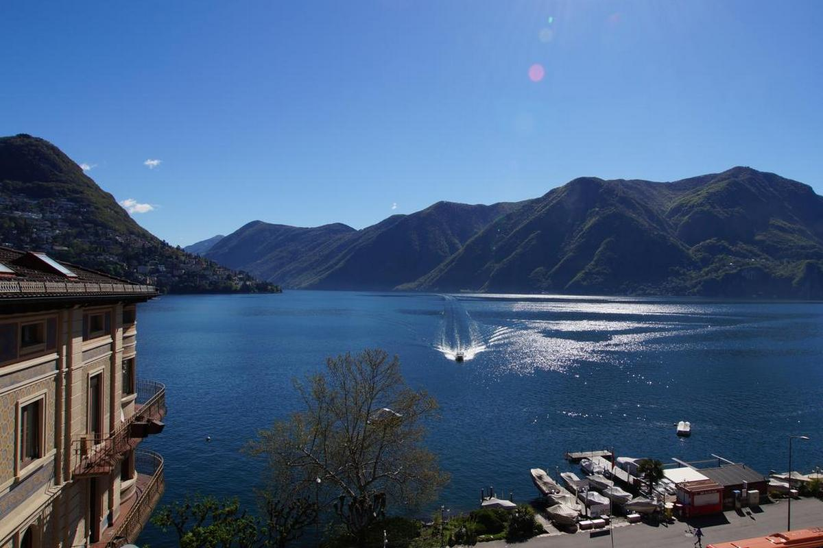 International au Lac Historic Lakeside Hotel – Widok na Jezioro Lugano