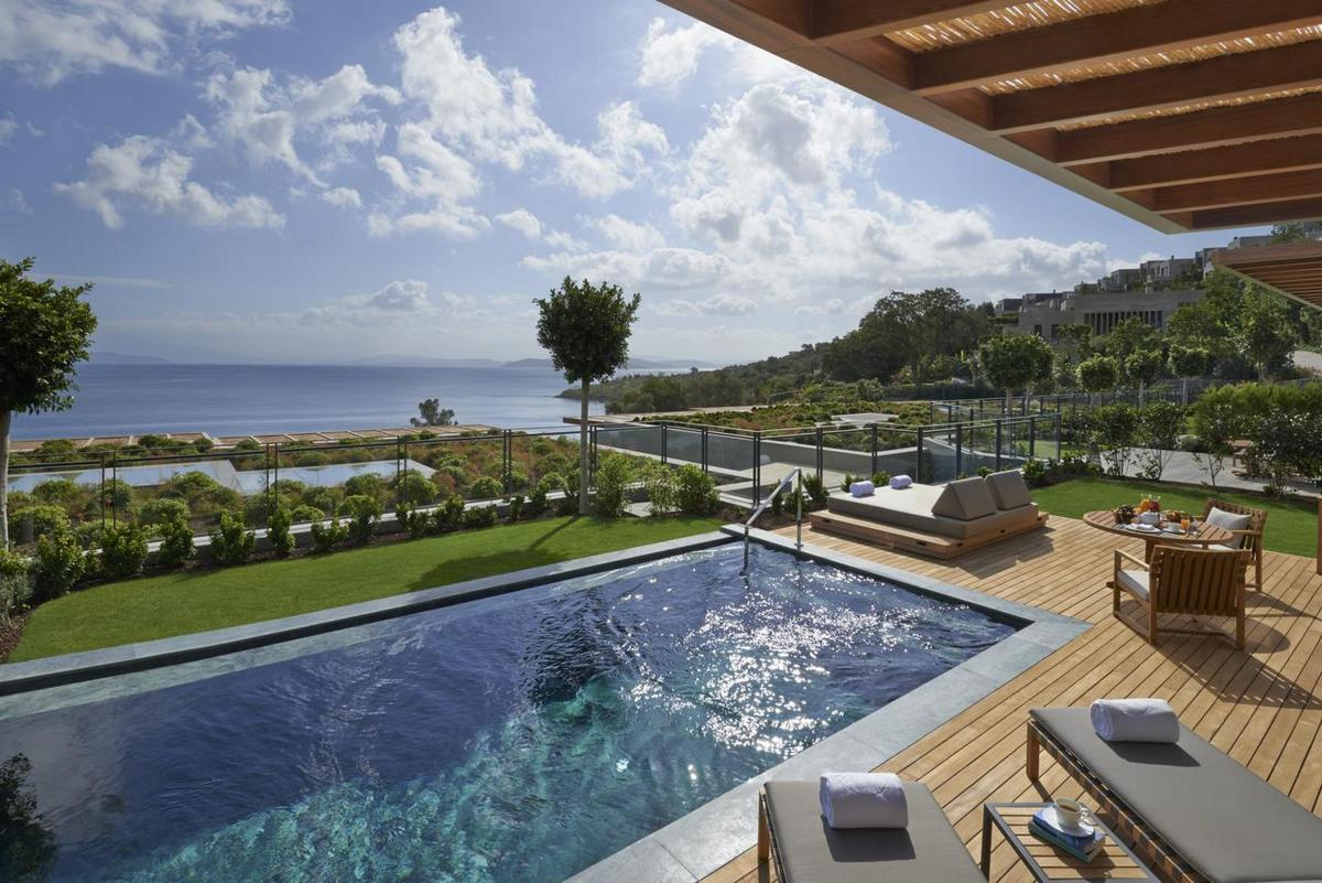 Mandarin Oriental Bodrum – Sea View Suite Terrace