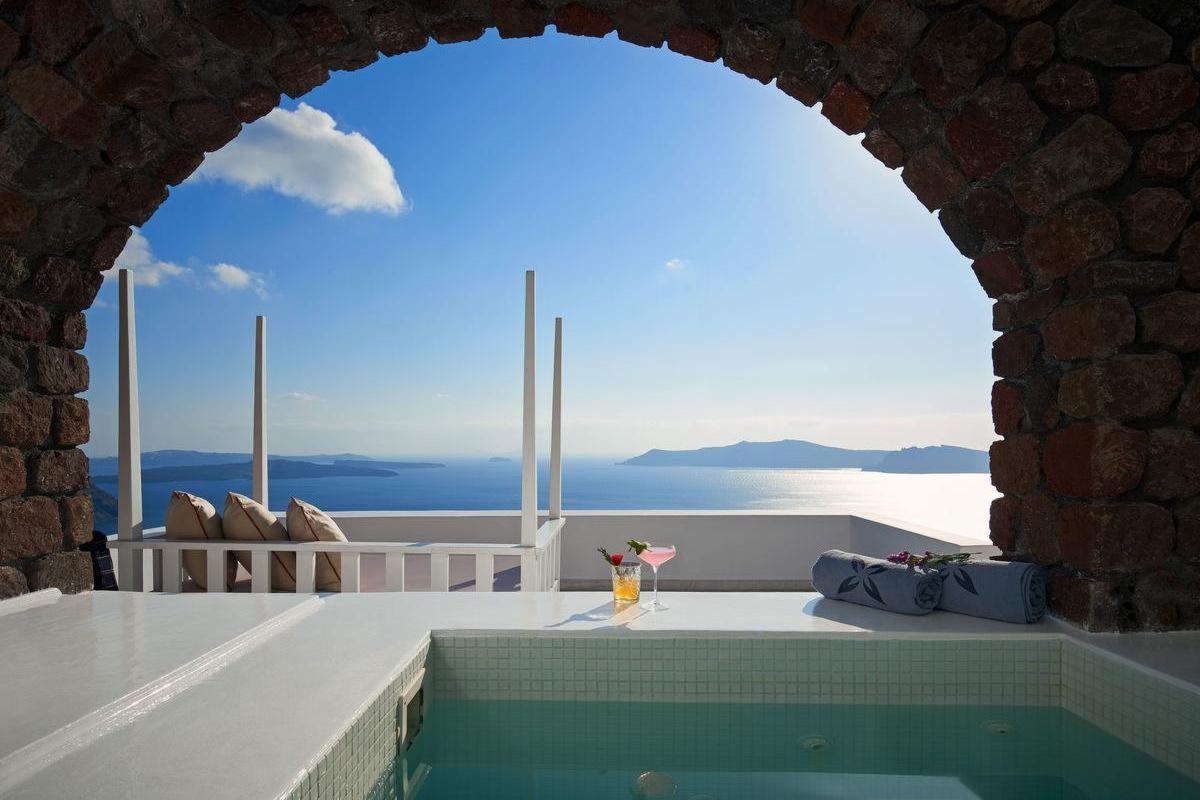 San Antonio Luxury Hotel Santorini – Superior Suite Z Jacuzzi