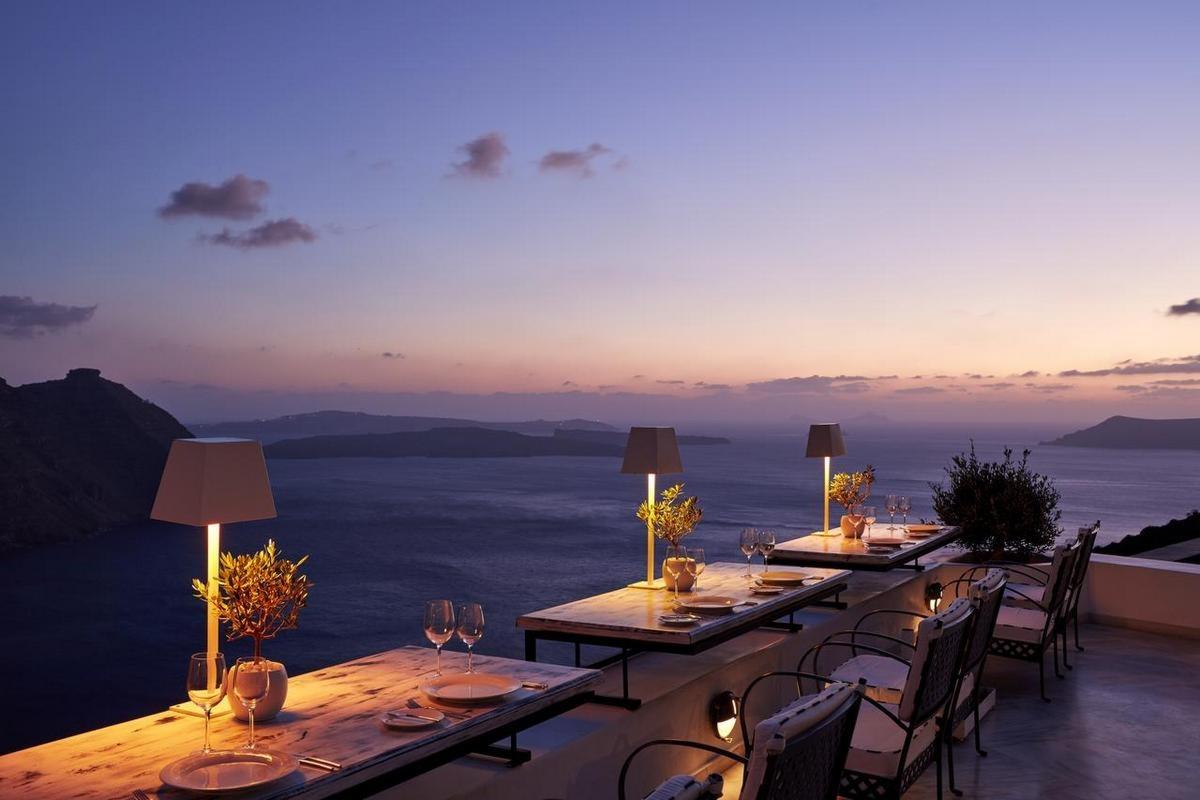 San Antonio Luxury Hotel Santorini – Restauracja