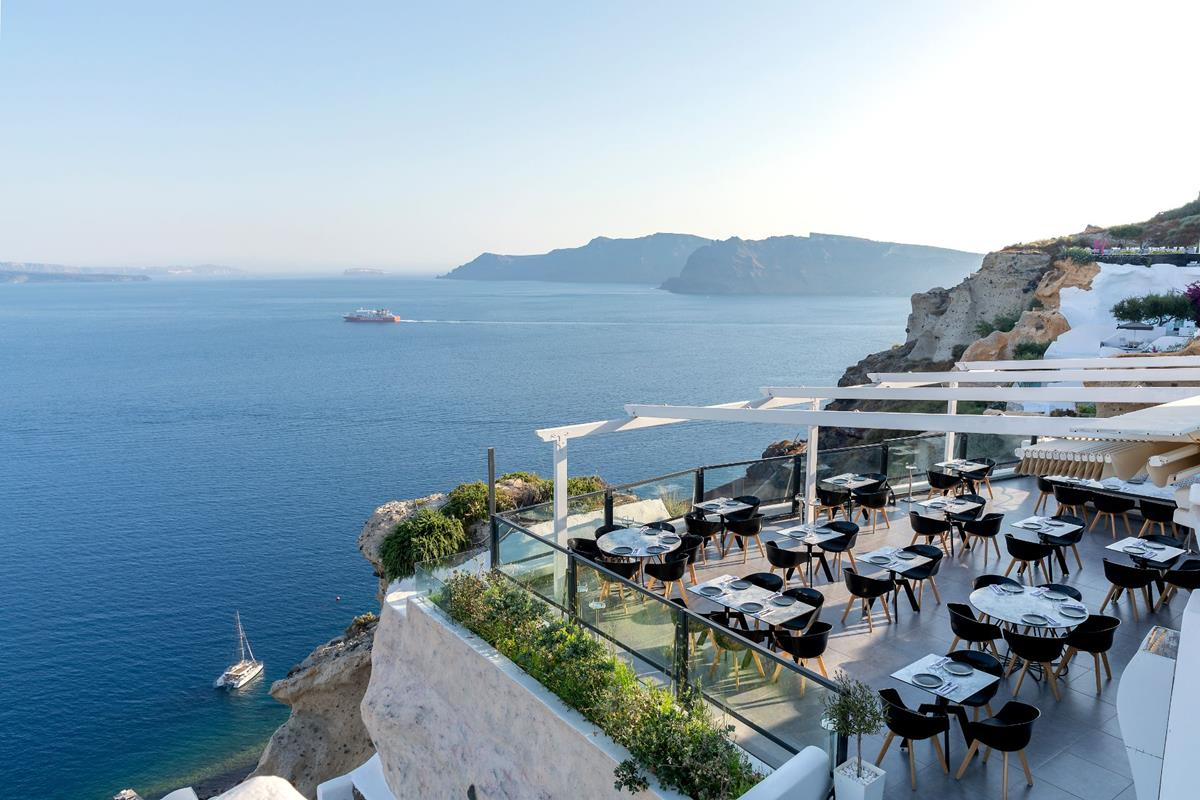 Santorini Secrets Suites & Spa – Restauracja
