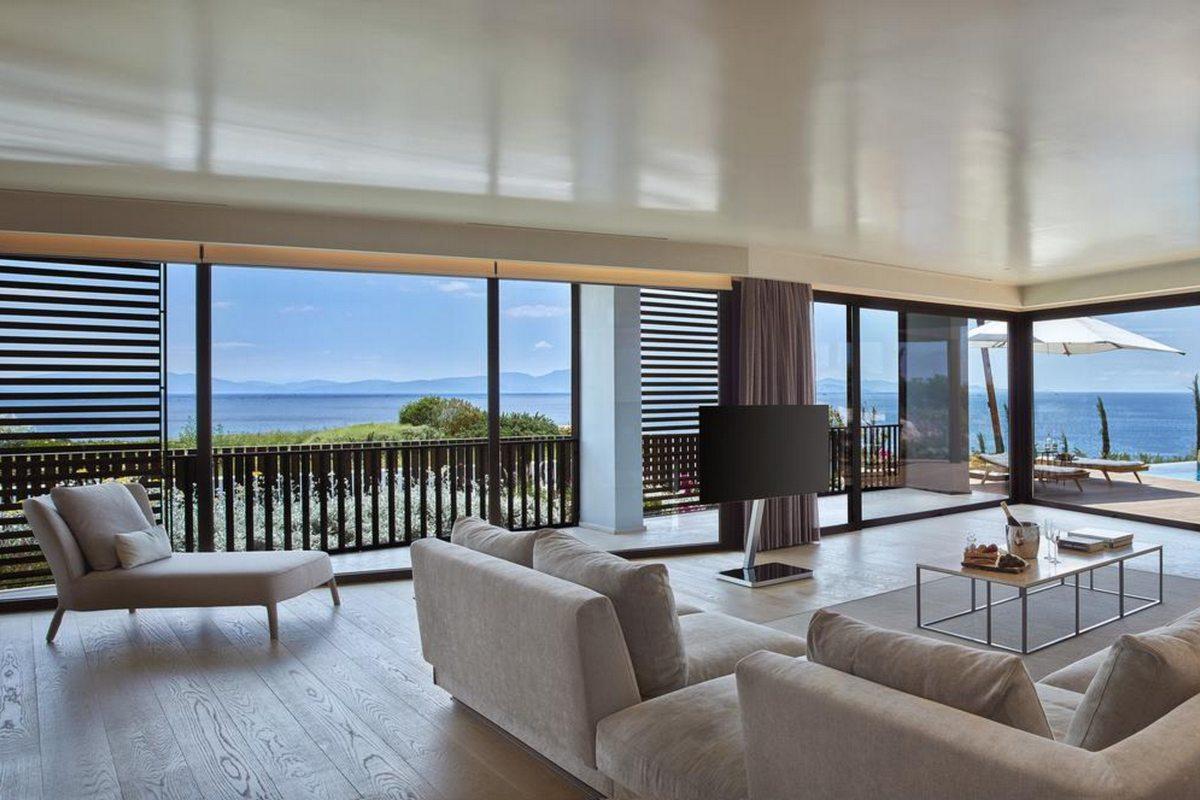 Six Senses Kaplankaya – Kaplankaya Suite with Pool Living Room