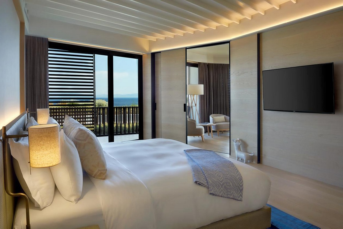 Six Senses Kaplankaya – Master Suite with Pool Bedroom