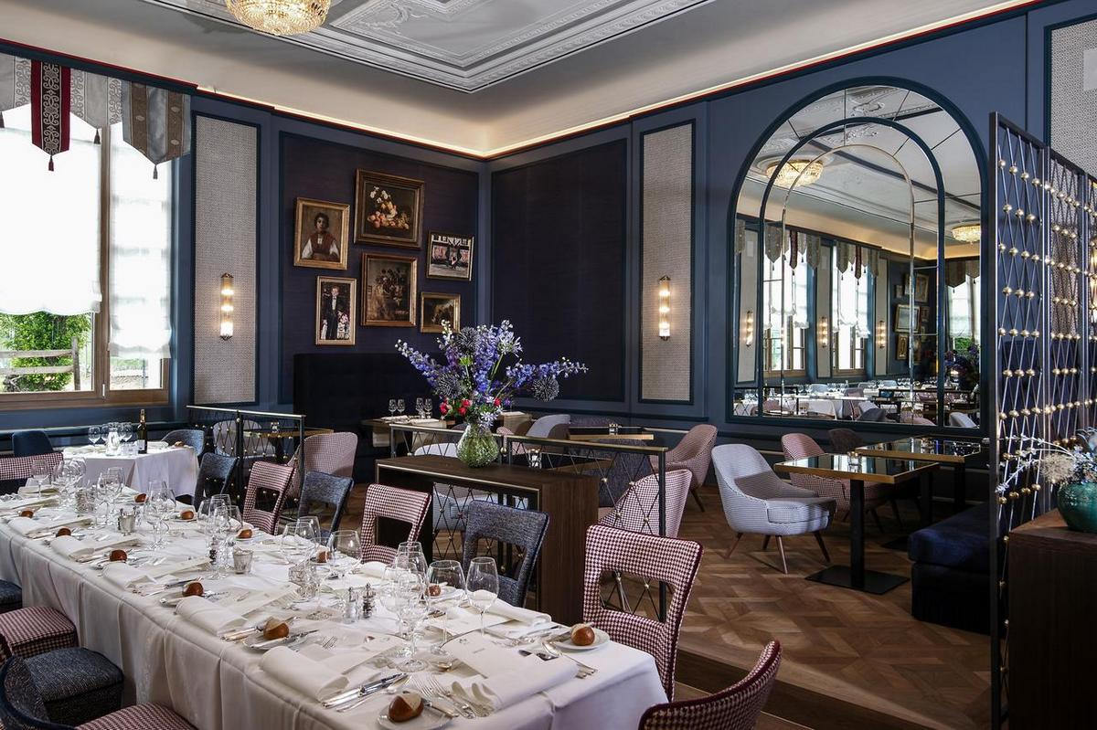 Walther Pontresina – Restauracja