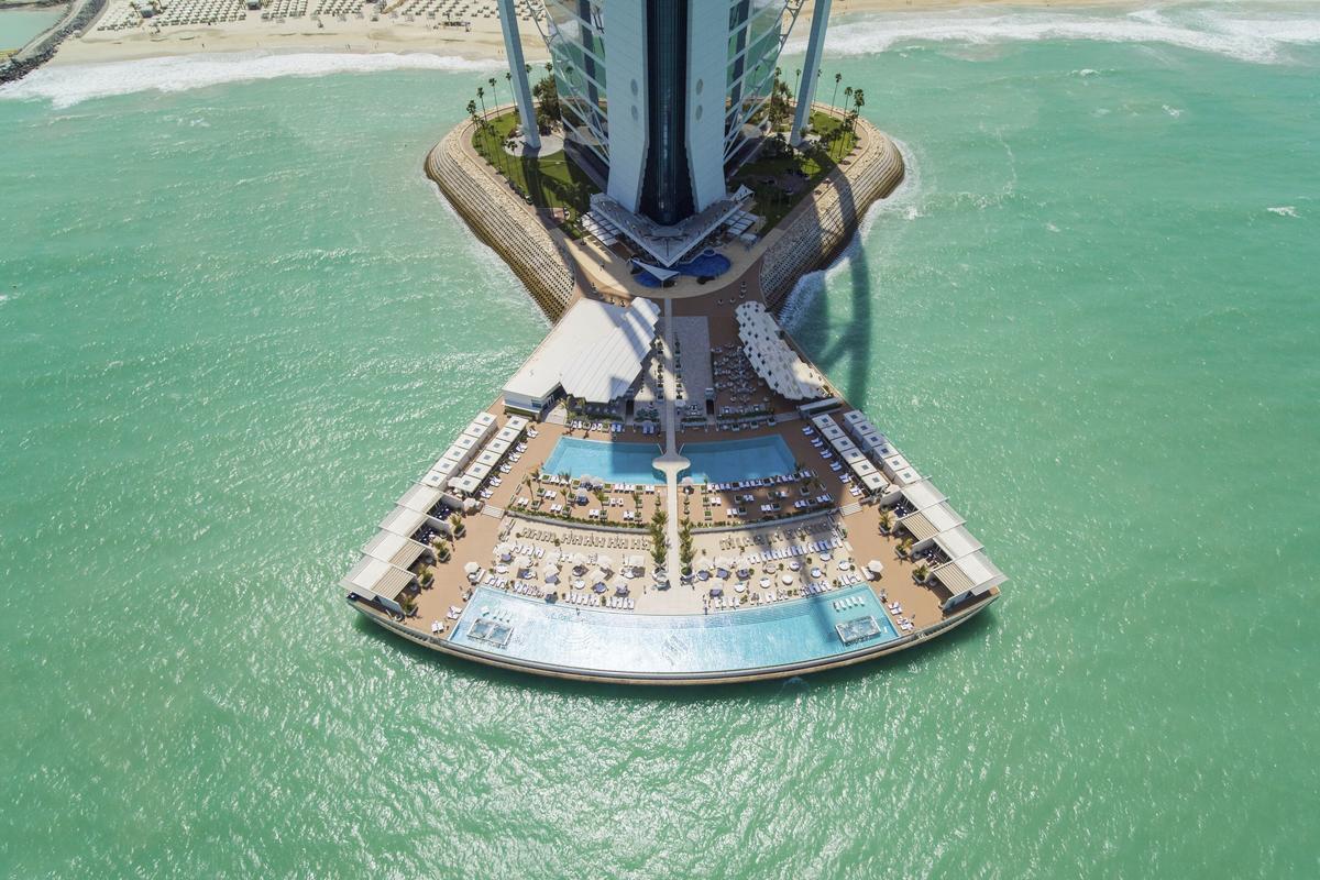 Burj al Arab – baseny