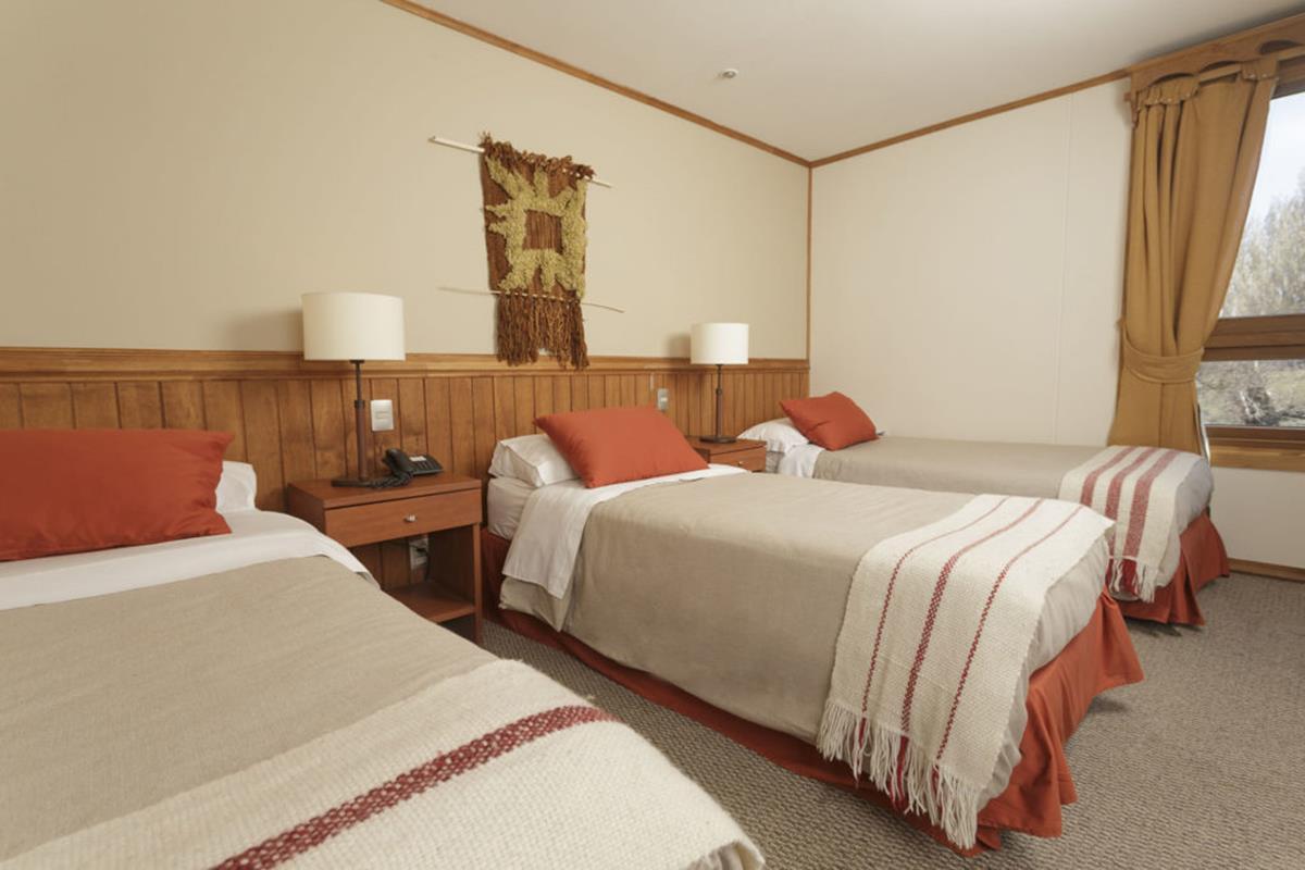 Hotel Las Torres Patagonia – Canelo Triple Room