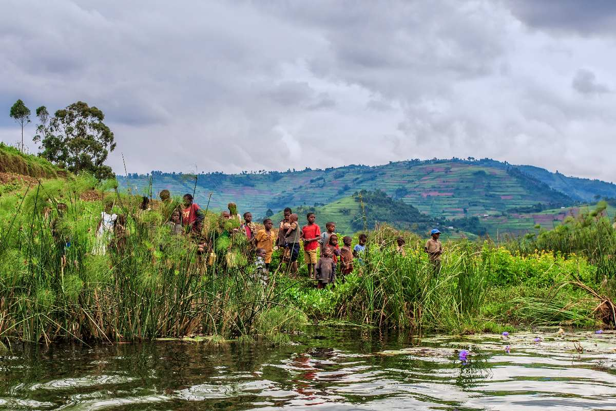 Jezioro Bunyonyi