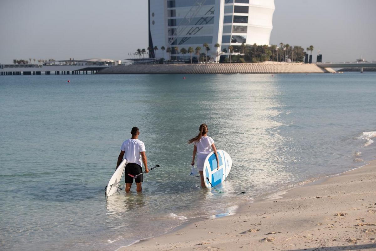 Jumeirah Mina a Salam – Plaża
