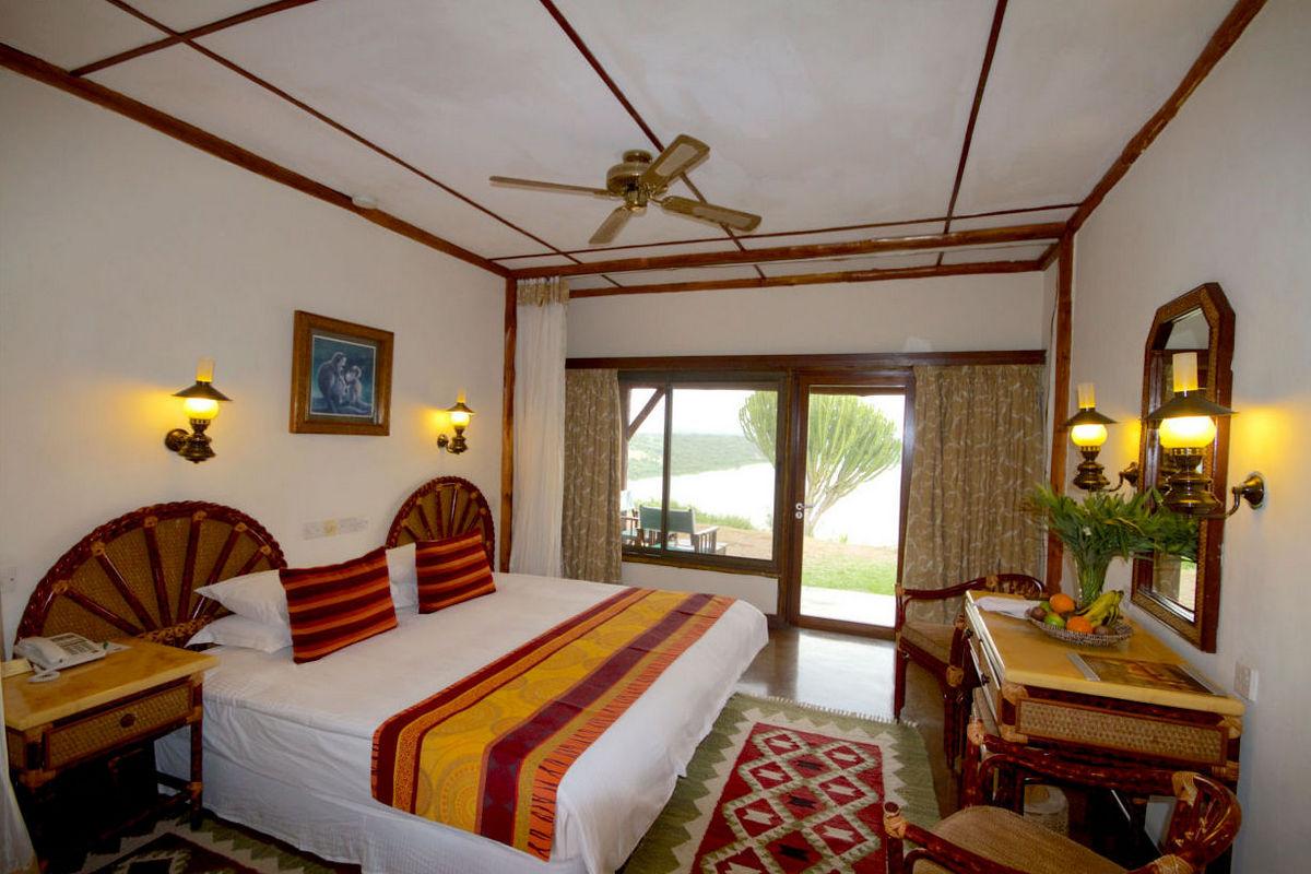 Mweya Safari Lodge – Pokój typu Deluxe