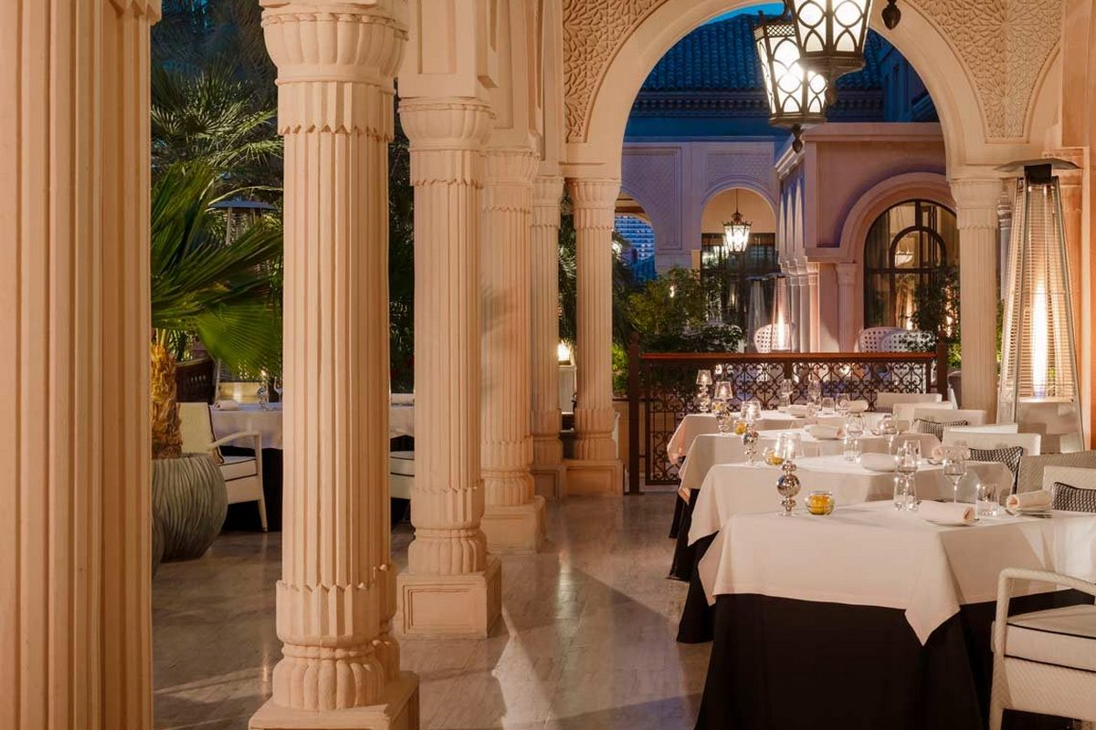 One & Only the Palm – Restauracja
