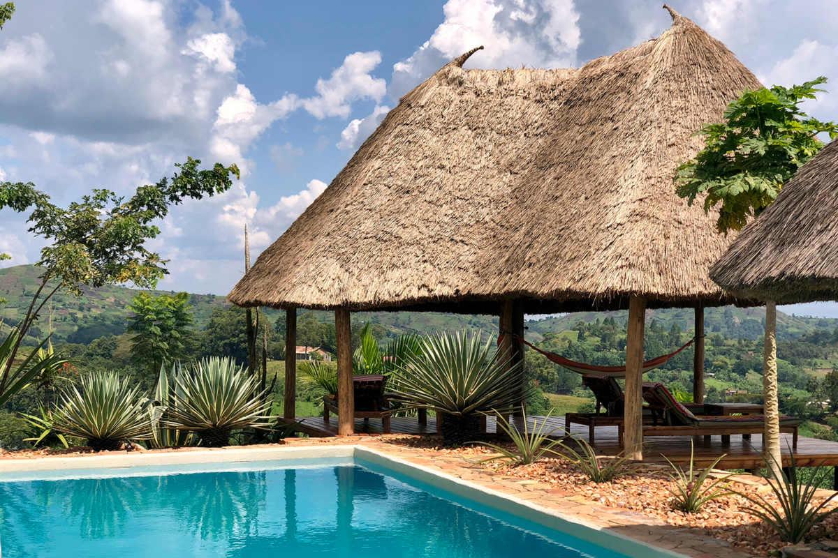 Papaya Lake Lodge – Basen