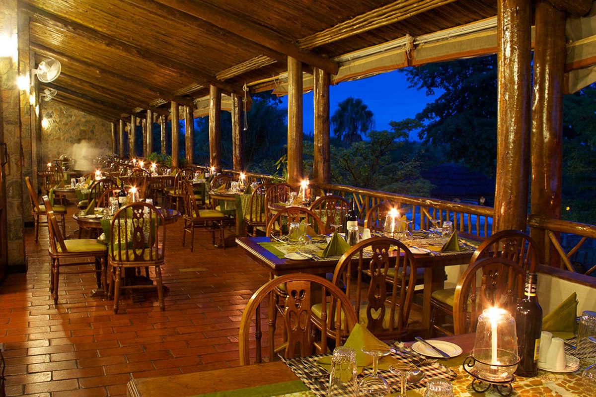 Paraa Safari Lodge – Restauracja