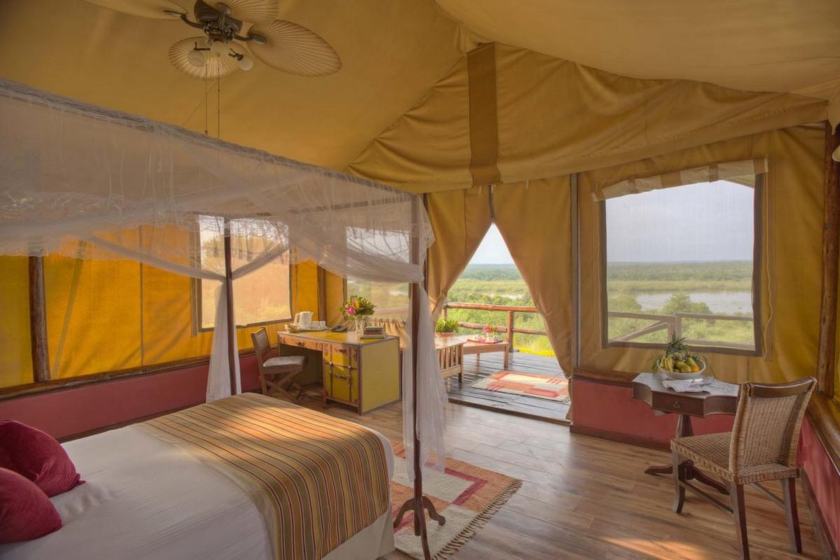 Paraa Safari Lodge – Safari Tent