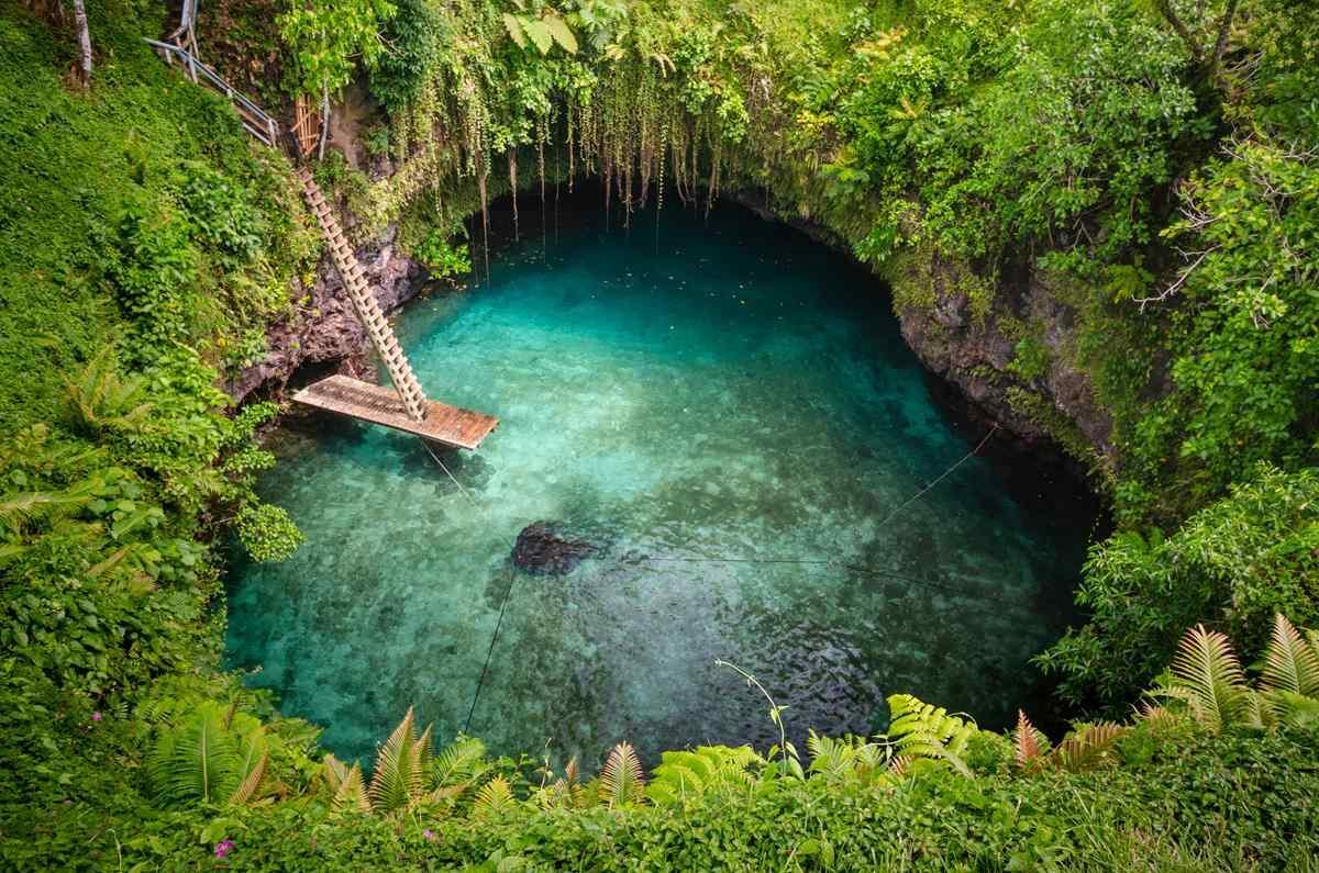 Upolu – To-Sua Ocean Trench
