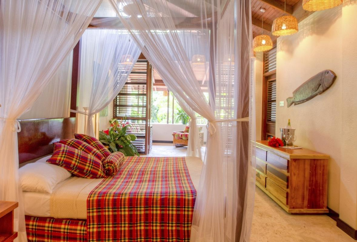 Anse Chastanet – Beachside Deluxe Room