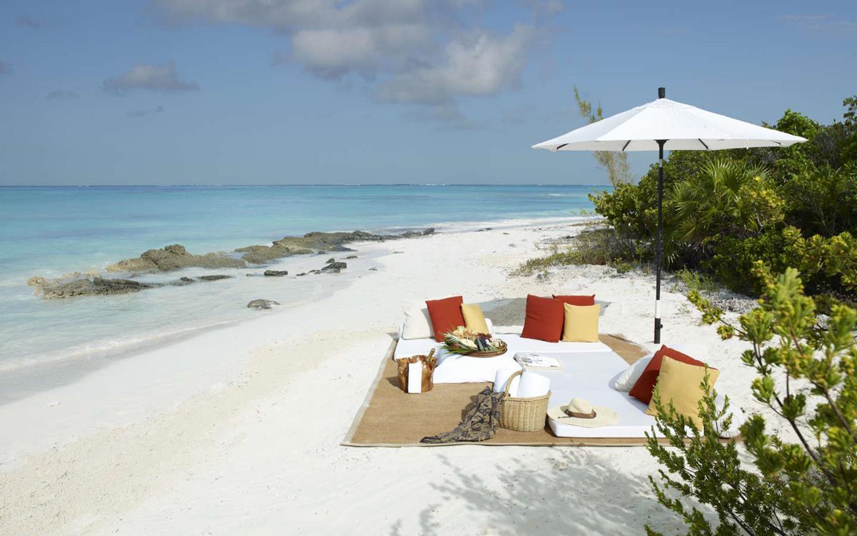 COMO Parrot Cay – Plaża