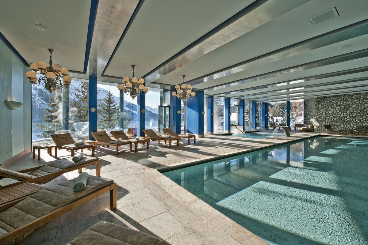 Carlton Hotel St. Moritz – Basen